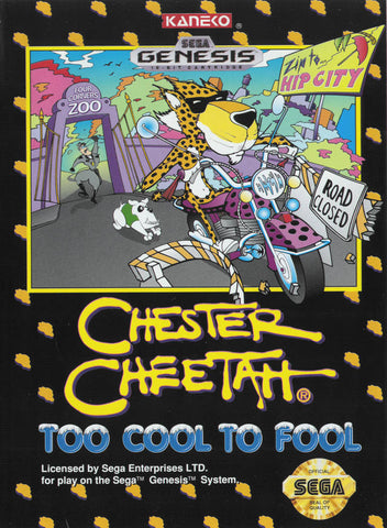 Chester Cheetah: Too Cool to Fool - SEGA Genesis [USED]