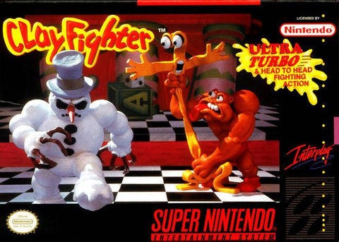 ClayFighter - Super Nintendo [USED]
