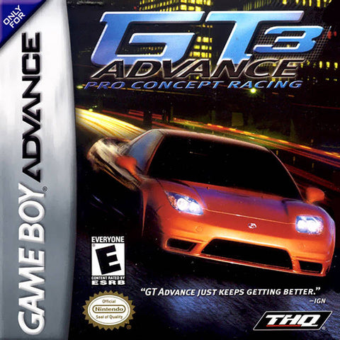 GT Advance 3: Pro Concept Racing - Game Boy Advance (Racing, 2002, US )