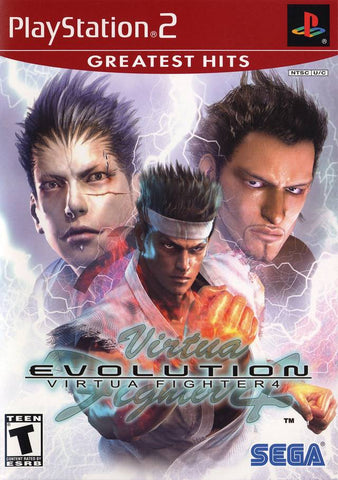 Virtua Fighter 4: Evolution (Greatest Hits) - PlayStation 2