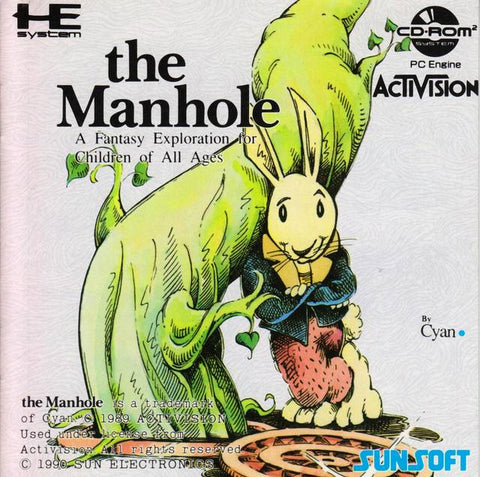 The Manhole - Turbo CD (Japan)