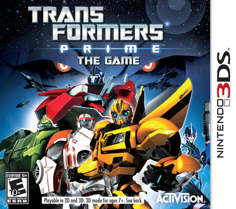 Transformers Prime: The Game - Nintendo 3DS [USED]