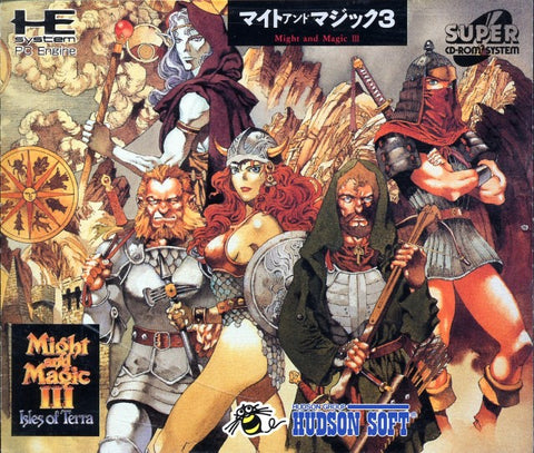 Might and Magic III: Isles of Terra - Turbo CD (Japan)
