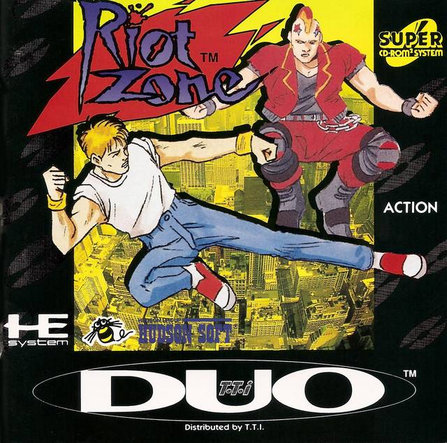 Riot Zone - Turbo CD
