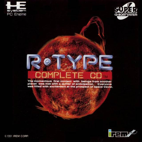 R-Type Complete CD - Turbo CD (Japan)