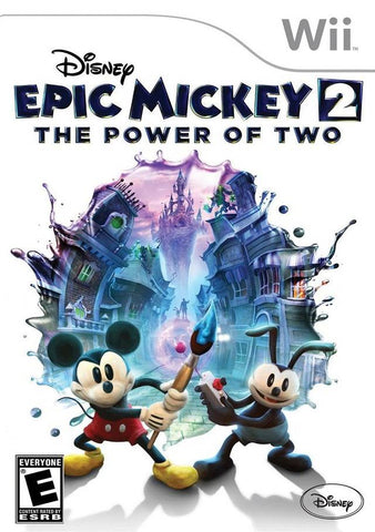 Disney Epic Mickey 2: The Power of Two - Nintendo Wii [NEW]