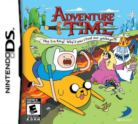 Adventure Time: Hey Ice King! Why'd You Steal Our Garbage?! - Nintendo DS