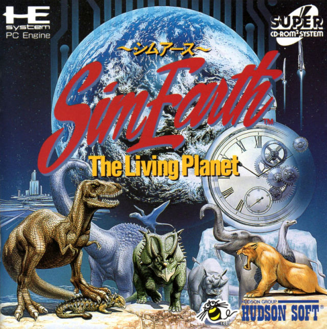 SimEarth: The Living Planet - Turbo CD (Japan)