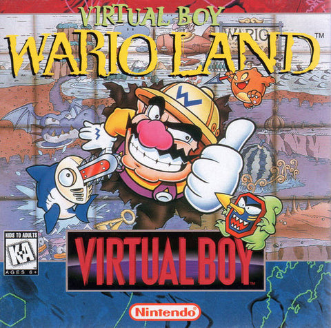 Virtual Boy Wario Land - Virtual Boy