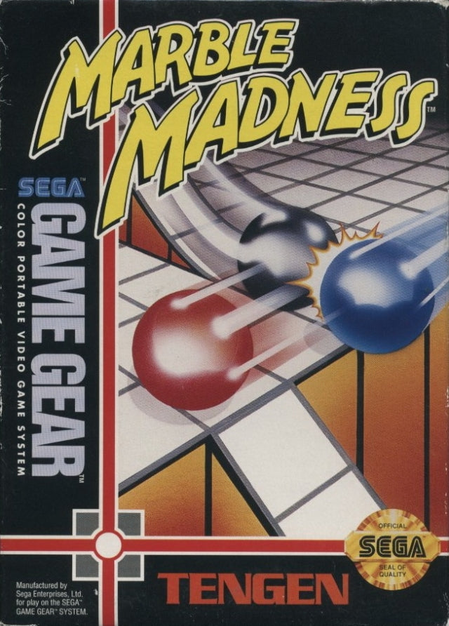 Marble Madness - SEGA GameGear [USED]