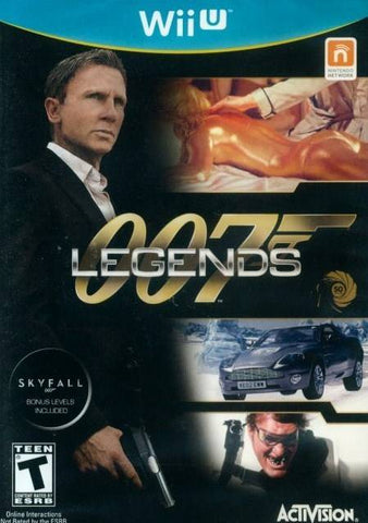 007 Legends - Wii U (FPS, 2012, US)