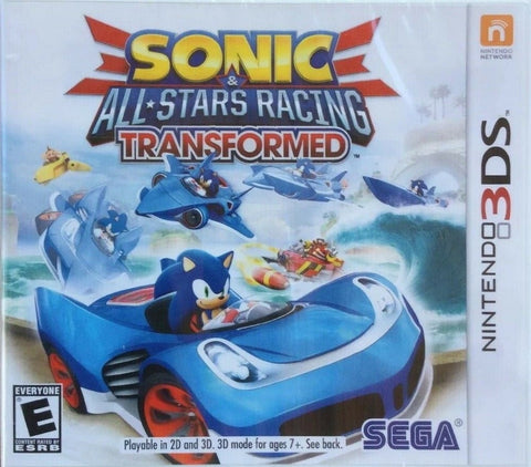 Sonic & All-Stars Racing Transformed - Nintendo 3DS [USED]