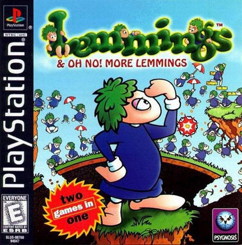 Lemmings & Oh No! More Lemmings - PlayStation