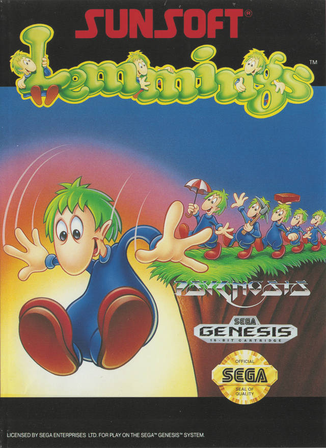Lemmings - SEGA Genesis [USED]