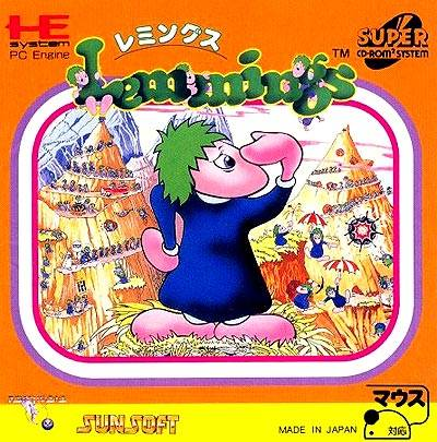 Lemmings - Turbo CD (Japan)