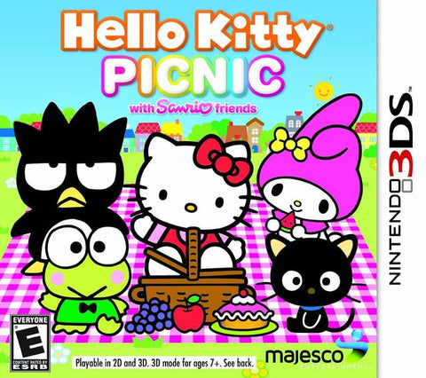 Hello Kitty Picnic with Sanrio Friends - Nintendo 3DS [NEW]