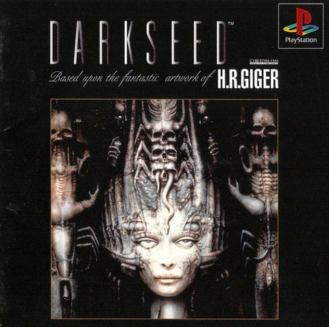 Dark Seed - PlayStation (Japan)