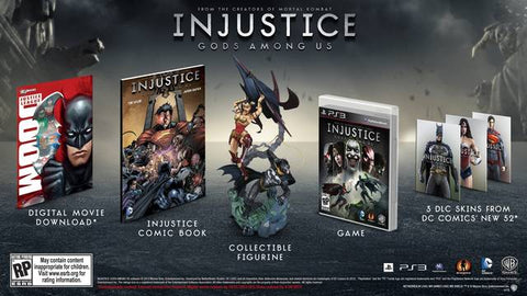 Injustice: Gods Among Us - PlayStation 3 (Fighting, 2013, US)