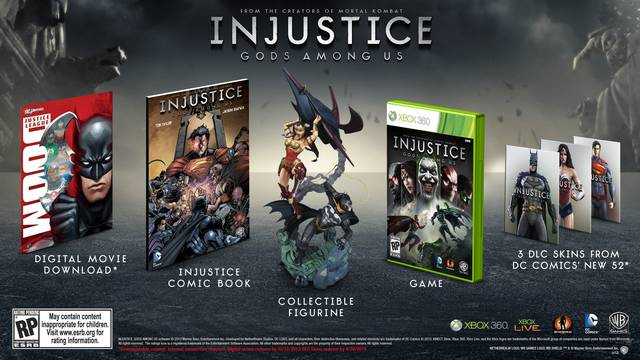 Injustice: Gods Among Us (Collector's Edition) - Xbox 360