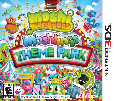 Moshi Monsters: Moshlings Theme Park - Nintendo 3DS [USED]