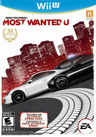 Need for Speed: Most Wanted U - Nintendo Wii U [USED]