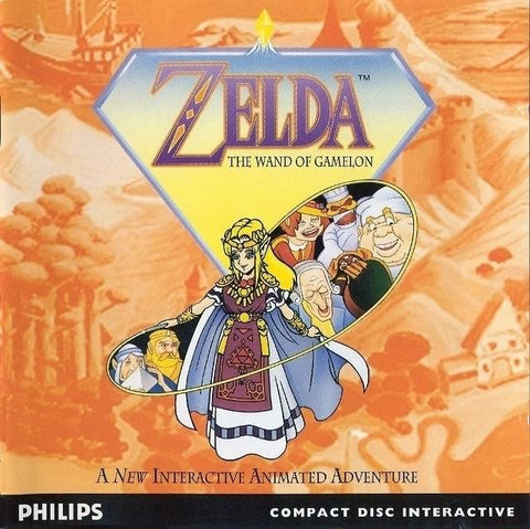 Zelda: The Wand of Gamelon - CD-I