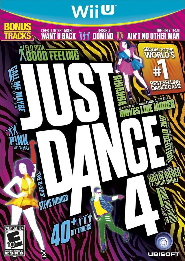 Just Dance 4 - Nintendo Wii U [USED]