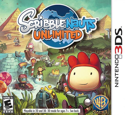 Scribblenauts Unlimited - Nintendo 3DS [USED]