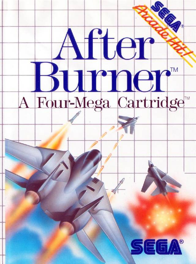 After Burner - SEGA Master System [CIB]