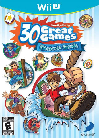 Family Party: 30 Great Games Obstacle Arcade - Nintendo Wii U [NEW]