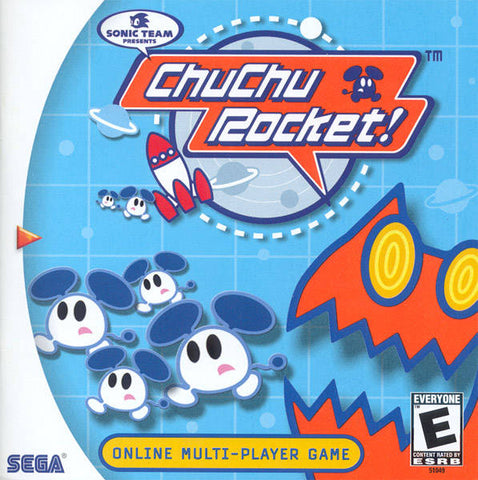 ChuChu Rocket! - SEGA Dreamcast (PUZ, 1999) [USED]