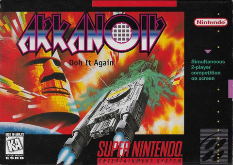 Arkanoid: Doh It Again - Super Nintendo [NEW]