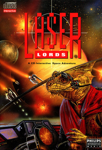 Laser Lords - CD-I