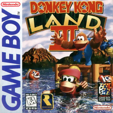 Donkey Kong Land III - Game Boy [USED]