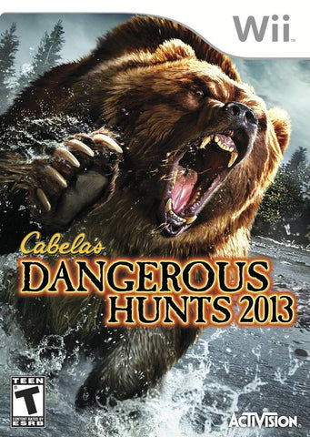 Cabela's Dangerous Hunts 2013 - Nintendo Wii [USED]