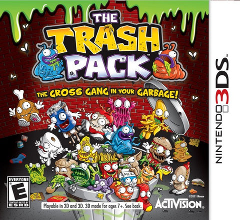 The Trash Pack - Nintendo 3DS [USED]