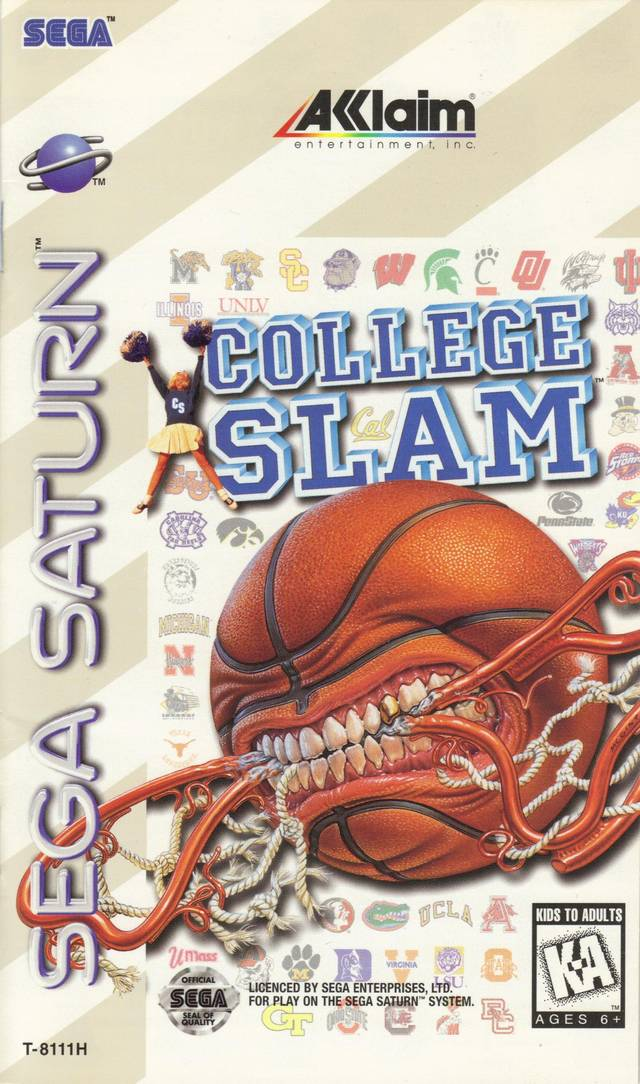 College Slam - SEGA Saturn [USED]