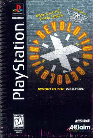 Revolution X (Long Box) - PlayStation