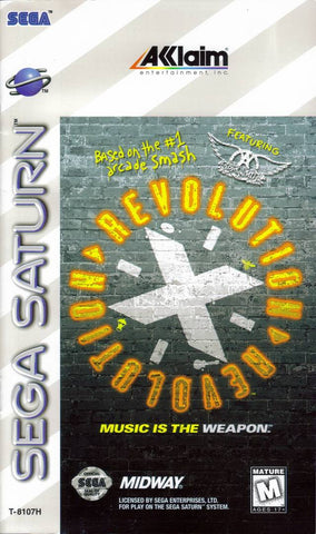 Revolution X - SEGA Saturn [USED]