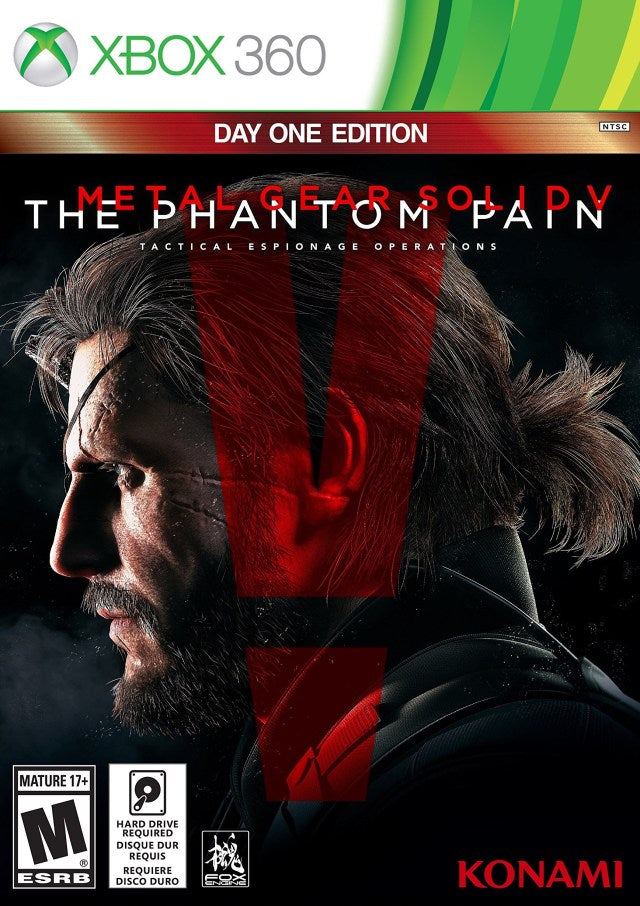 Metal Gear Solid V: The Phantom Pain (Day 1 Edition) - Xbox 360
