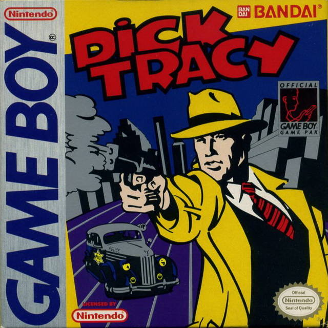 Dick Tracy - Game Boy (Action & Adv, 1991, US )