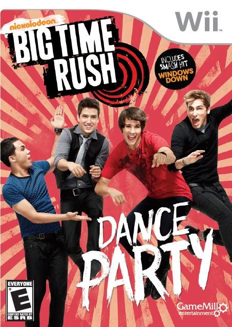 Big Time Rush: Dance Party - Nintendo Wii [USED]