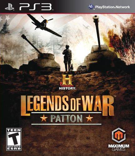 History Legends of War: Patton - PlayStation 3