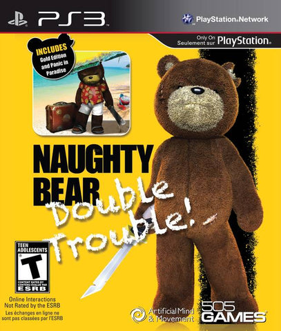 Naughty Bear: Double Trouble! - PlayStation 3