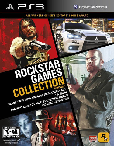 Rockstar Games Collection: Edition 1 - PlayStation 3