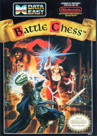 Battle Chess - Nintendo NES [USED]