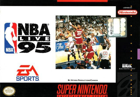 NBA Live 95 - Super Nintendo [USED]