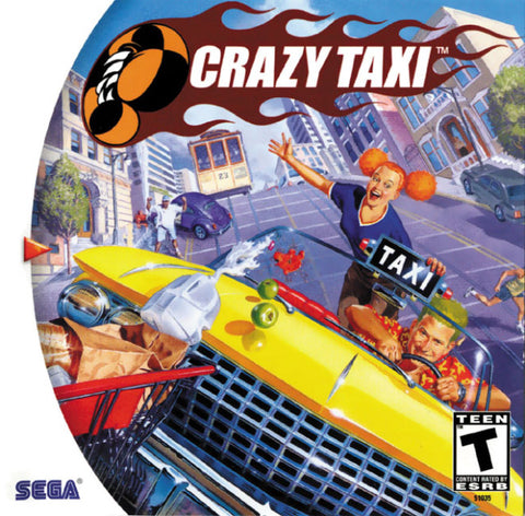 Crazy Taxi - SEGA Dreamcast (RAC, 2000) [USED]