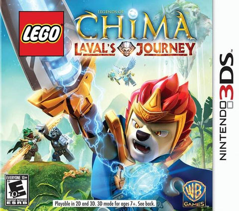 LEGO Legends of Chima: Laval's Journey - Nintendo 3DS [USED]
