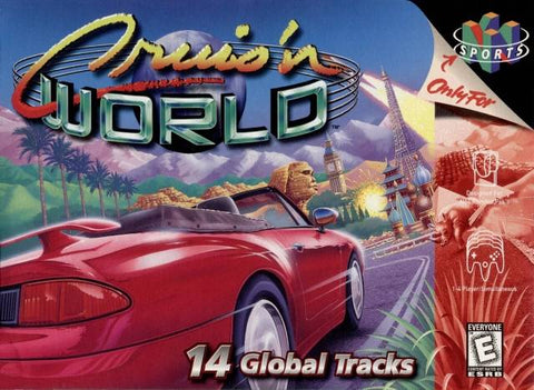 Cruis'n World - N64 Cover Art